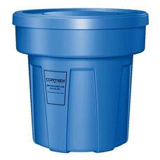 25 Gallon Cobra Food Grade/General Use Trash Can - Blue