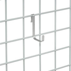 Chrome Single Hook - Set of 6