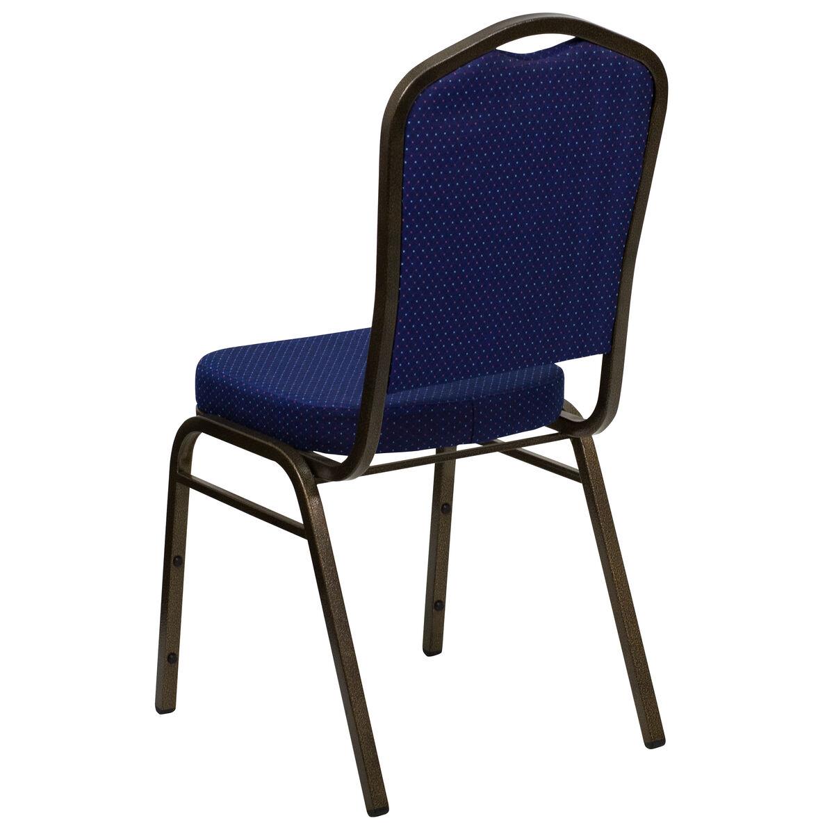 Navy Blue Fabric Banquet Chair Fd C01 Goldvein 208 Gg
