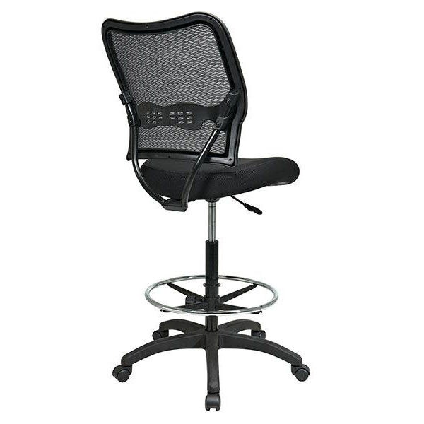 ... Our Space Air Grid Back U0026 Mesh Seat Drafting Chair With Built In Lumbar  Support ...