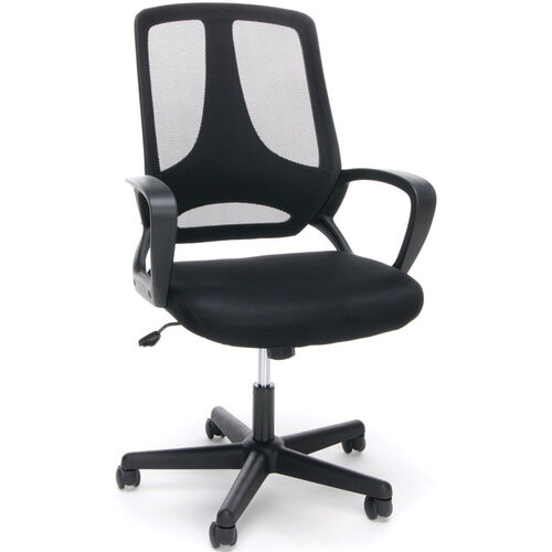 Our Essentials Swivel Mesh High Back Task Chair with Arms - Black is on sale now.