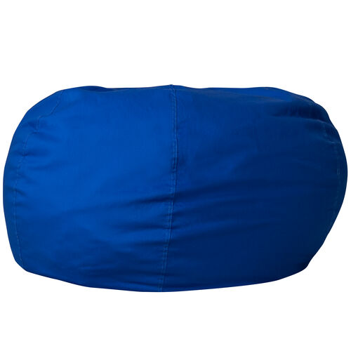 Our Oversized Solid Royal Blue Bean Bag Chair for Kids and Adults is on sale now.