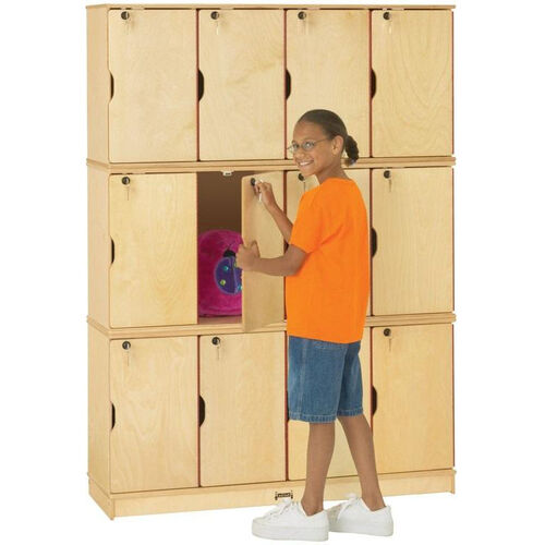 Our Stacking Lockable Lockers - 12 Individual Lockers is on sale now.