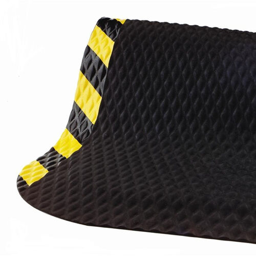 Our Anti-Fatigue Black Hog Heaven Floor Mat with .625