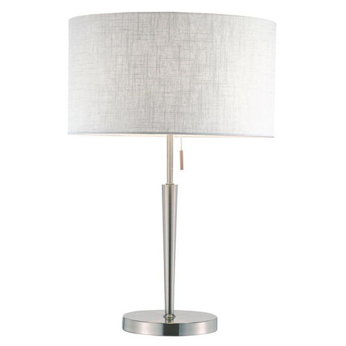 Hayworth Table Lamp - Stainless Steel