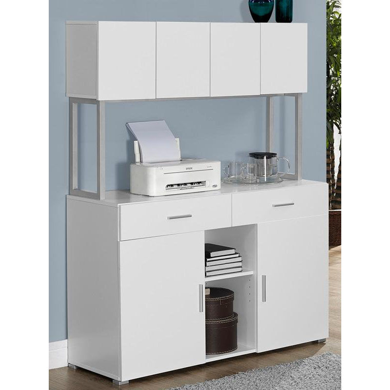 ... Our Modern 60u0027u0027H Office Storage Credenza   White Is On Sale Now.