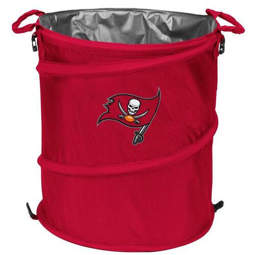 Tampa Bay Buccaneers Team Logo Collapsible 3-in-1 Cooler Hamper Wastebasket
