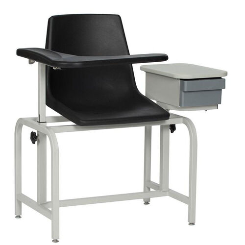 Our Blood Drawing Chair - Plastic Seat is on sale now.