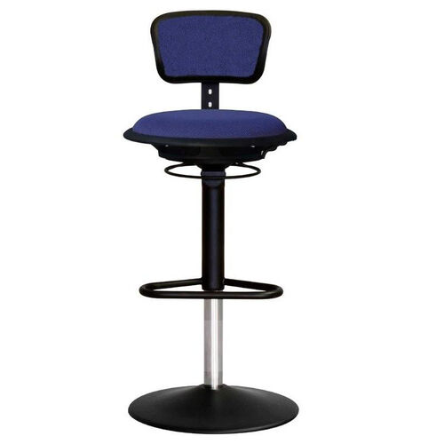 Our Jax Mesh Stool with Adjustable Backrest and Round Seat - Navy is on sale now.