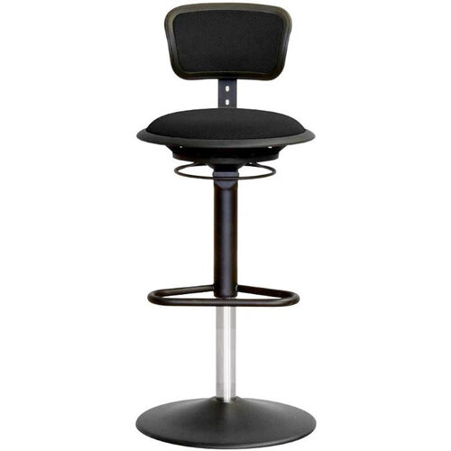 Our Jax Mesh Stool with Adjustable Backrest and Round Seat - Black is on sale now.