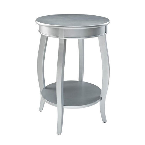 Our Rainbow Round Table with Shelf - Silver is on sale now.