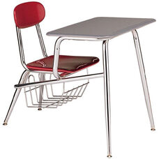 Legacy Series Combination 15.5'' Chair Desk with Bookbasket
