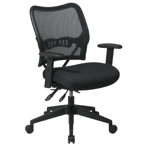 Our Space Air Grid Series Deluxe Swivel Task Chair with Adjustable Height Mesh Seat - Black is on sale now.
