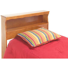Barrister Wood Bookcase Headboard - Full - Bayport Maple