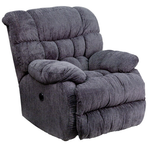 Our Contemporary Columbia Indigo Blue Microfiber Power Recliner with Push Button is on sale now.