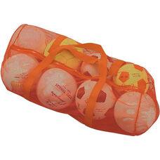 Mesh Duffel Bag in Orange