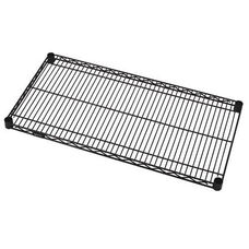 Black Wire Shelf 24'' W x 48'' L