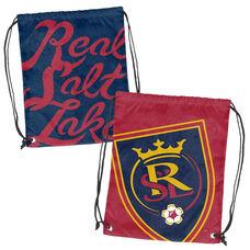 Real Salt Lake Team Logo Doubleheader Drawstring Backsack