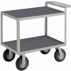 Instrument Cart with 2 Shelves and Non-Slip Vinyl Shelf Surface - 30