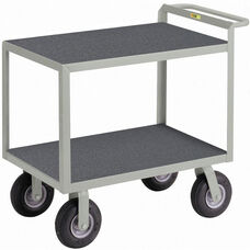 Instrument Cart with 2 Shelves and Non-Slip Vinyl Shelf Surface - 30