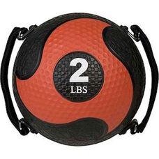 2 lb. Rhino Ultra-Grip Medicine Ball in Red