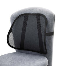 Safco® Mesh Backrest - 17-1/2w x 3-1/8d x 15h - Black