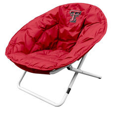 Texas Tech University Team Logo Folding Sphere Chair