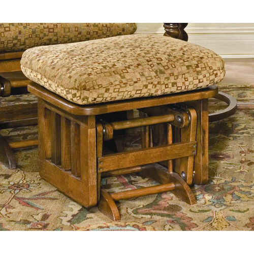 Our Oak Wood Mission Ottoman with Slatted Side Panel - Dark Oak Finish is on sale now.