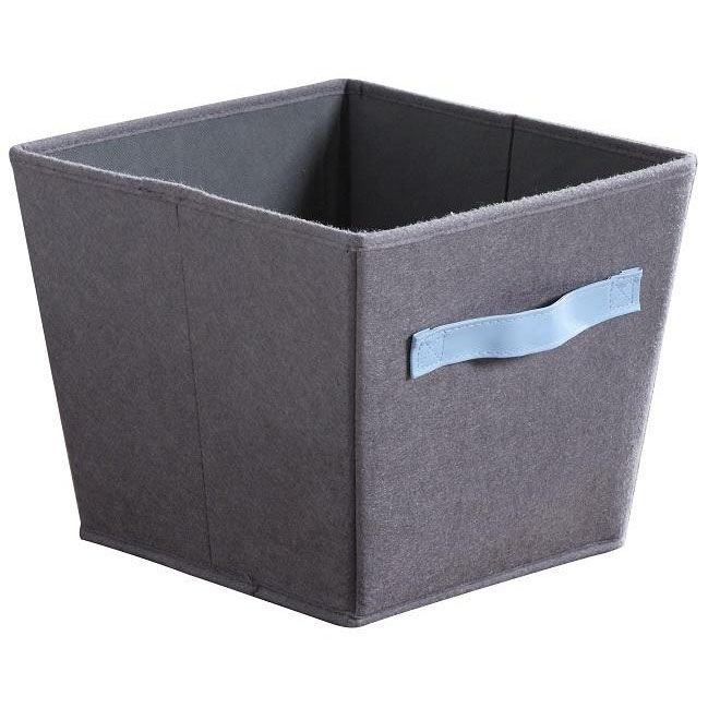 ... Our Felt Fabric 10.5u0027u0027 Square Storage Bins   Gray And Blue Is On Sale  ...
