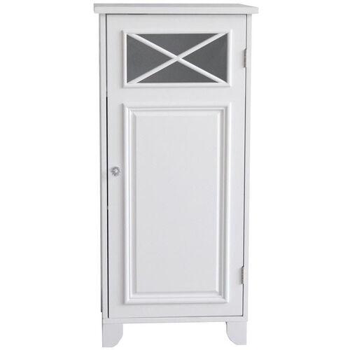 Dawson Floor Cabinet with One Door - White