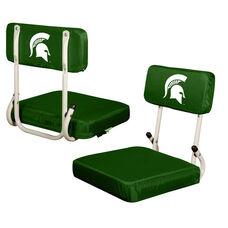 Michigan State University Team Logo Hard Back Stadium Seat