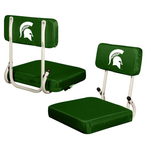 Our Michigan State University Team Logo Hard Back Stadium Seat is on sale now.