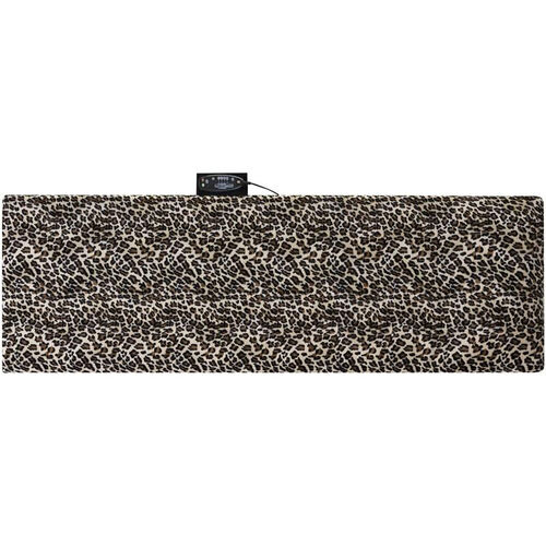 Our Relaxzen 10-Motor Massage Mat with Heat Removable Cover and Pillow - Leopard is on sale now.