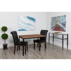 "Avalon 30"" x 45.75"" Rectangular Dining Table in Coffee Wood Finish"