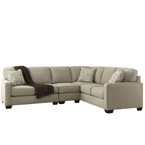 Our Signature Design by Ashley Alenya 3-Piece Right Side Facing Sofa Sectional in Quartz Microfiber is on sale now.