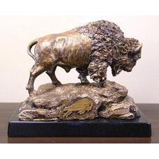 Buffalo Bills Tim Wolfe Sculpture