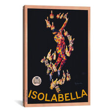 Isolabella (Vintage) by Leonetto Cappiello Gallery Wrapped Canvas Artwork