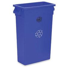 Genuine Joe Recycling Container - 23 Gallon - Blue