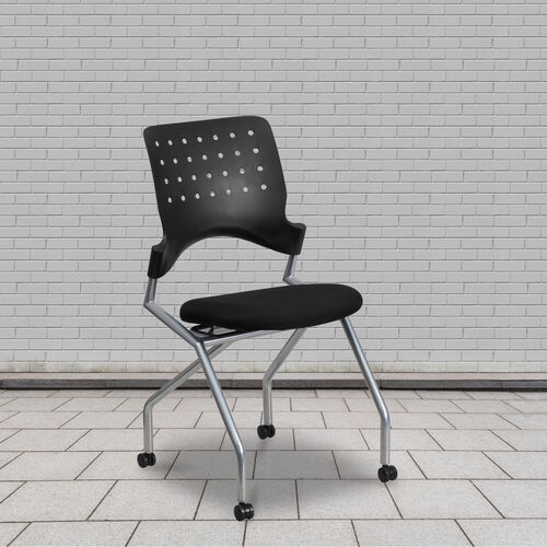 Our Galaxy Mobile Nesting Chair with Black Fabric Seat is on sale now.