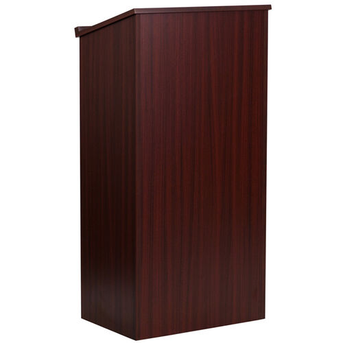 Our Stand-Up Wood Lectern in Mahogany is on sale now.