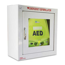 Zoll Medical AED Plus Defib. Alarmed Wall Cabinet