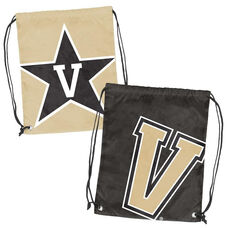 Vanderbilt University Team Logo Doubleheader Drawstring Backsack