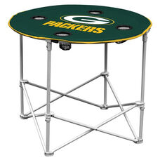 Green Bay Packers Team Logo Round Folding Table