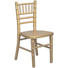 Advantage Kids Gold Wood Chiavari Chair