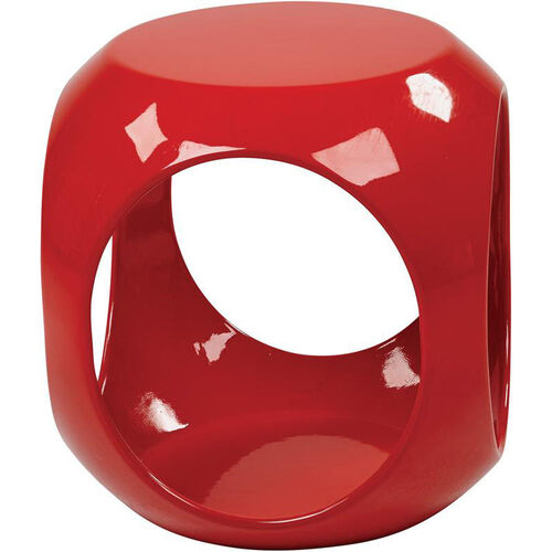 Our Ave Six Slick Modern Cube Occasional Table - Red is on sale now.