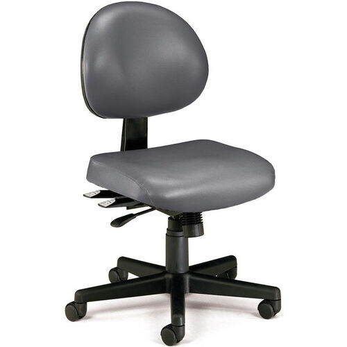 Our 24 Hour Anti-Microbial and Anti-Bacterial Vinyl Task Chair - Charcoal is on sale now.