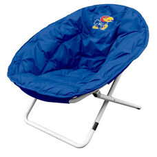 University of Kansas Team Logo Folding Sphere Chair