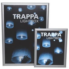 Trappa Light Box 04 with Silver Frame