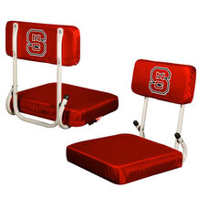 North Carolina State University Team Logo Hard Back Stadium Seat