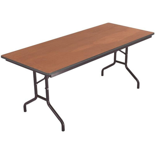 Our Sealed and Stained Plywood Top Table with Vinyl T - Molding Edge - 36
